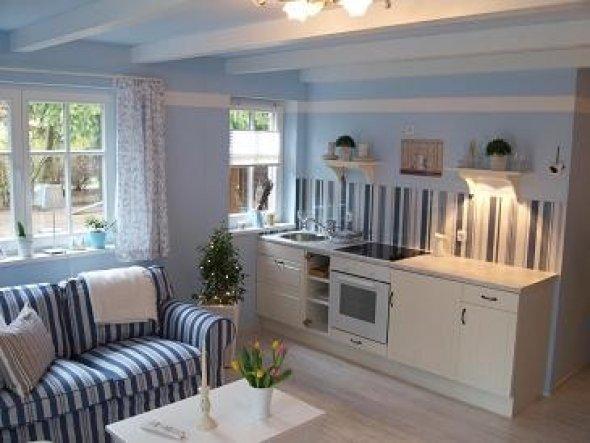 Wohnzimmer 'Blaue Lagune'