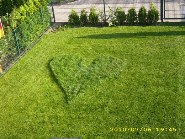 Eine spontane Liebeserklärung von meinem Mann.