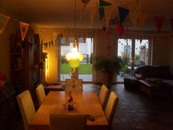 So sah unser Wohnzimmer bis mitte letzten Jahres aus.