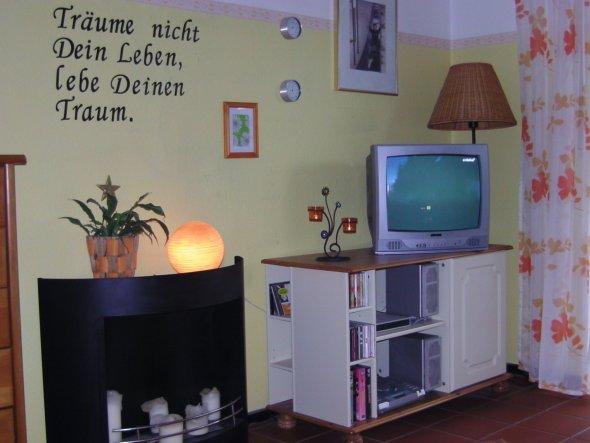 Wohnzimmer 'mein Wohn-schlafzimmer'