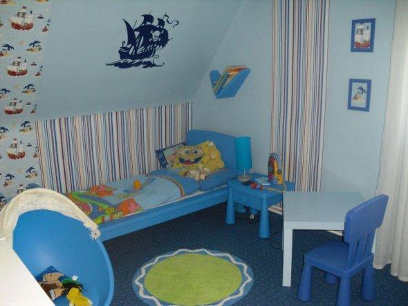 Kinderzimmer 39 piratenzimmer 39 zwergenhaus zimmerschau - Piratenzimmer deko ...