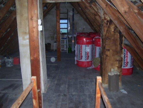 Wohnzimmer 'Dachboden'