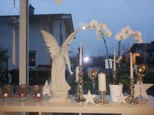 Fensterdeko 2013 Weihnachten