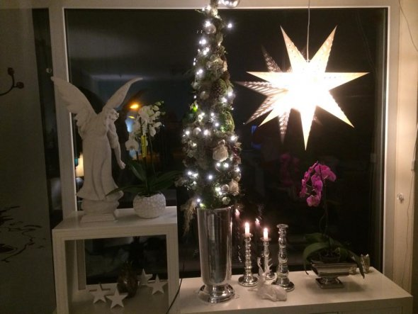 Weihnachtsdeko ' x mas 2014'