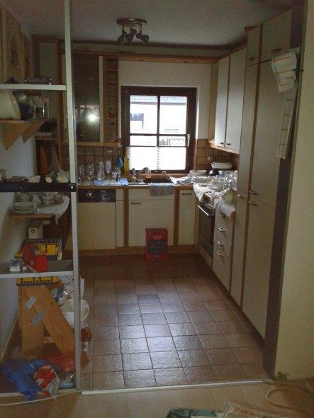 Küche 'Blick in die Küche'