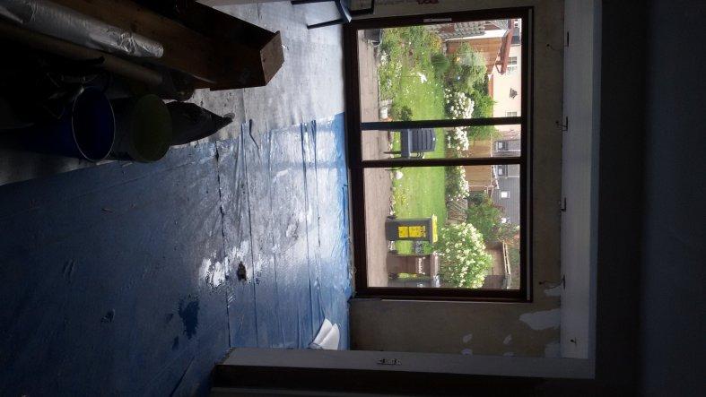 Wohnzimmer 'Stube mit Blick in den Garten'