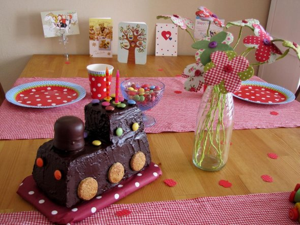 Deko 'Louises 2. Geburtstag'
