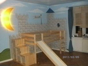 kinderzimmer 39 zeitloses prinzessinenzimmer 39 selbstrenoviertes 50er jahre haus zimmerschau. Black Bedroom Furniture Sets. Home Design Ideas