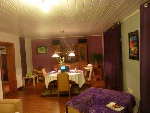 Wohnzimmer 39 wohnzimmer 39 landhaus zimmerschau for Lila zimmer