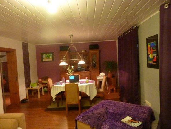 Wohnzimmer 'lila zimmer'
