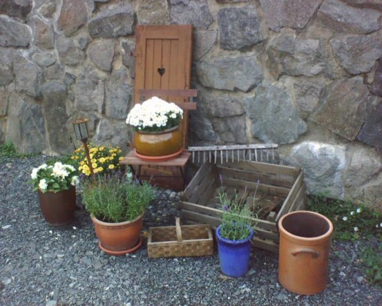 Garten 'Zur Begrüßung...'