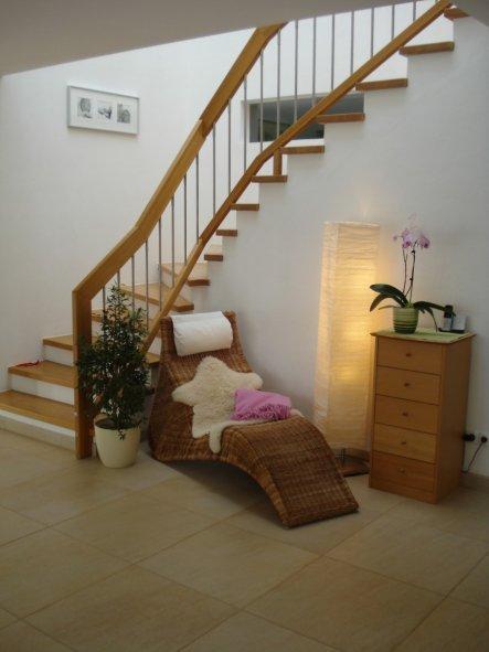 Wohnzimmer 'Treppenhaus'