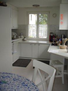 Wohn.-Esszimmer mit offener Küche