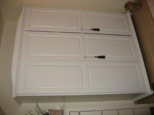 Tipp & Trick 'altes Büffet sowie Kleiderschrank weiß matt lackiert'