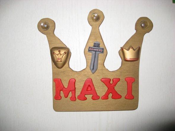 Hier betretet ihr das Ritterzimmer von Maxi !
