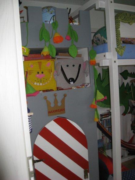 Kinderzimmer 'Maxi`s Ritterreich'