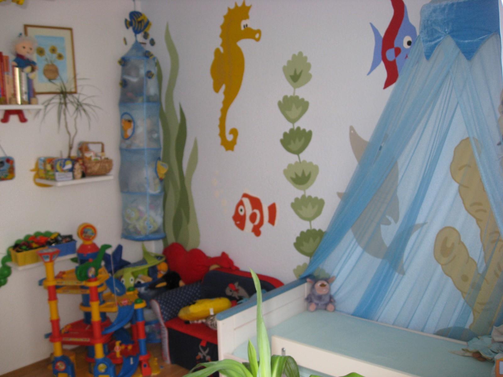 Kinderzimmer \'Unterwasserwelt\' - Home of the 3 Martini`s - Zimmerschau