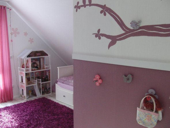 Kinderzimmer unser neues haus von olga1984 32593 zimmerschau - Basteln fur kinderzimmer ...
