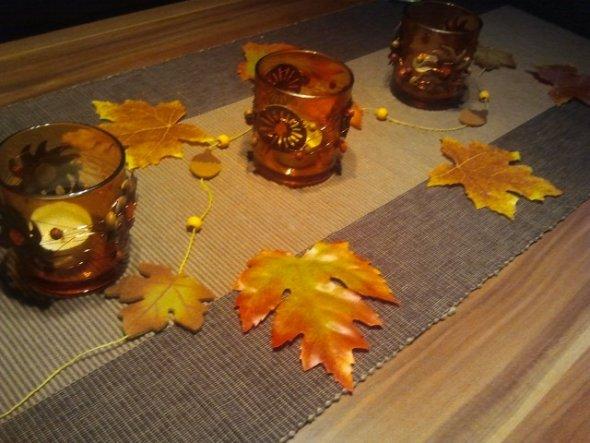 Deko 39 herbstdeko 39 unsere wohnung lollesgirl zimmerschau - Herbstdeko fur den tisch ...