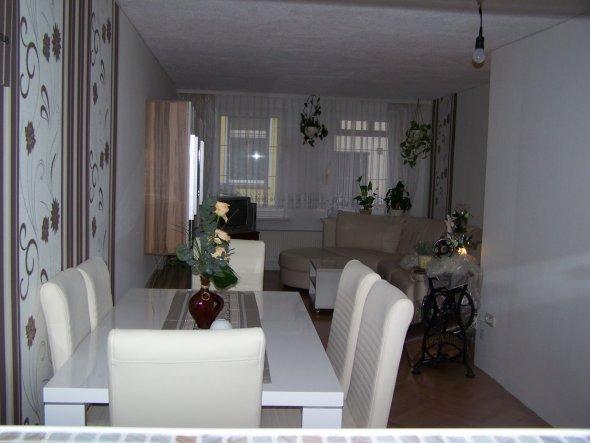 wohnzimmer 39 wohn u essbereich 39 unser kleines h uschen zimmerschau. Black Bedroom Furniture Sets. Home Design Ideas