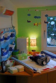 Prinz Pauls Babyzimmer