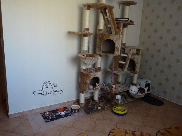 Haustiere 'Katzenzimmer'