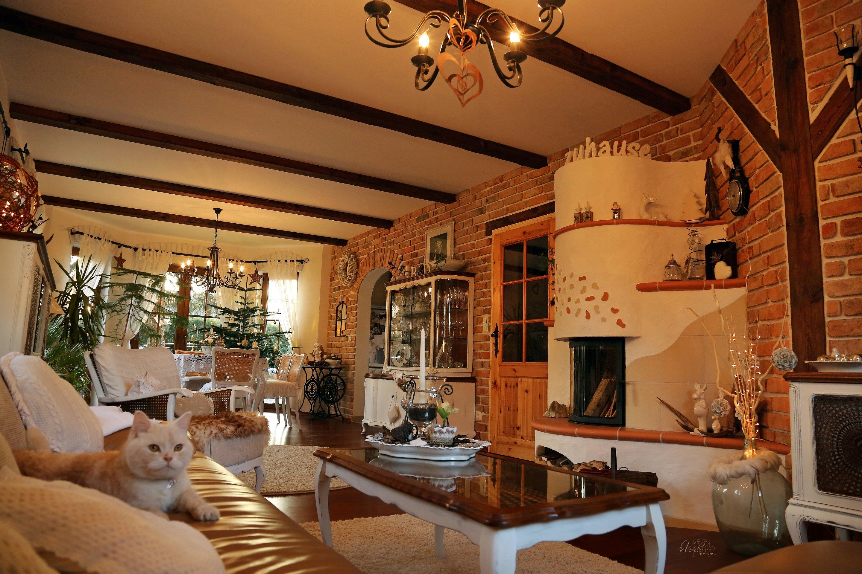 Wohnzimmer 39 wohnzimmer 39 landhaus zimmerschau for Chalet modern einrichten