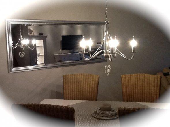 Wohnzimmer 'Mein Traum in weiß '