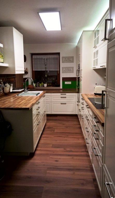 Rein in meine neue Küche...........