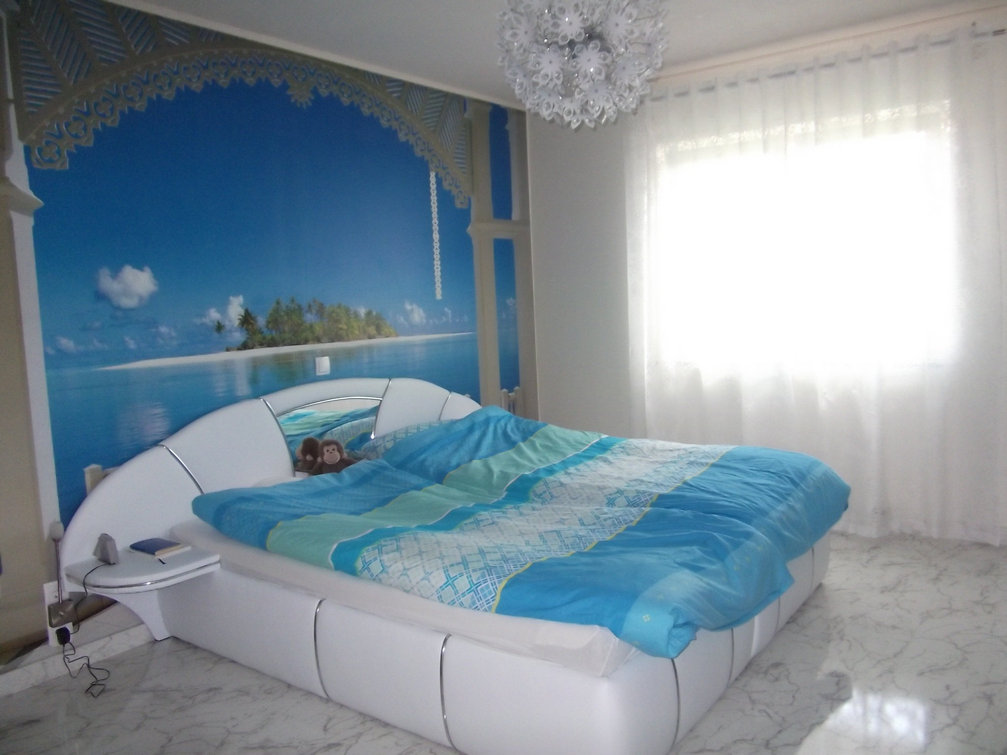 schlafzimmer 39 traum im wei 39 mein domizil zimmerschau. Black Bedroom Furniture Sets. Home Design Ideas