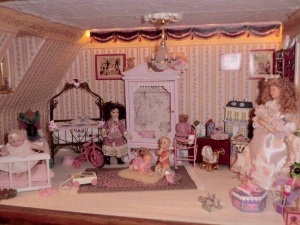 das Mädchenzimmer-ein Traum in Rosa...