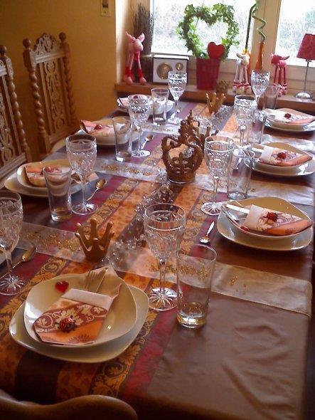 """..hier noch ein weiteres Foto vom """"perfekten Dinner"""""""