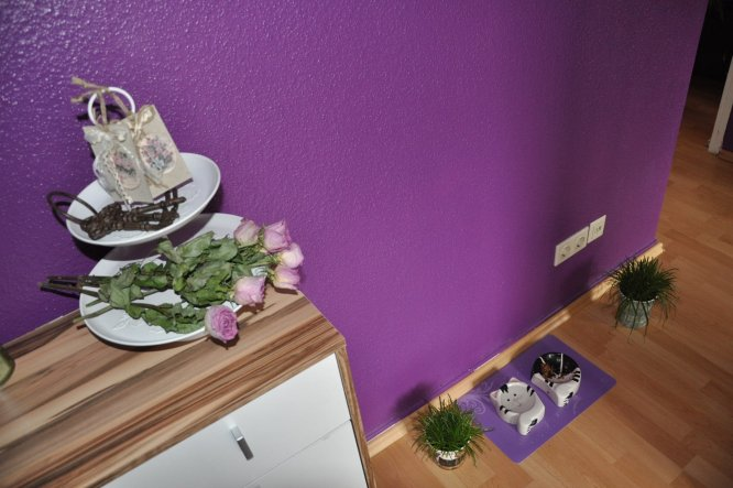 flur diele 39 flur 39 unsere kleine purple rain wohnung zimmerschau. Black Bedroom Furniture Sets. Home Design Ideas