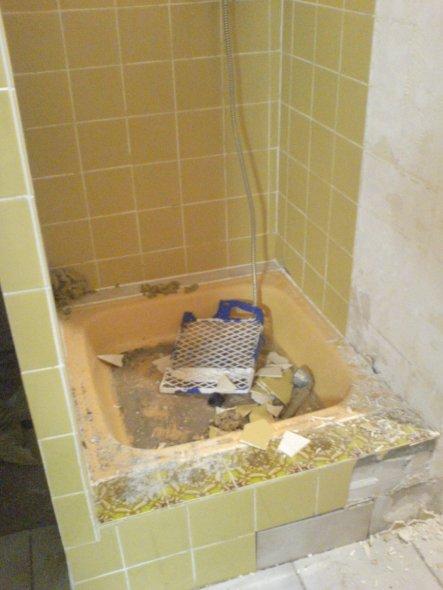 Bad vor dem Umbau.