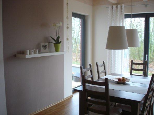 esszimmer graue wand ~ beste ideen für moderne innenarchitektur - Esszimmer Wand Bilder