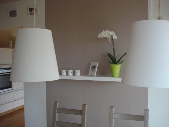 Braune Wnde Im Wohnzimmer - Wohndesign