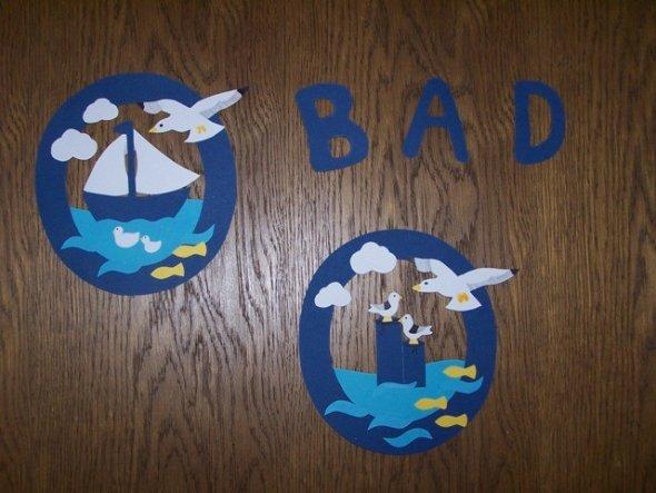Bad 'Maritimes Bad im Landhausstil'