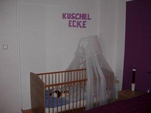 Elternschlafzimmer + unser Sohn