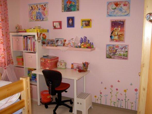 Kinderzimmer 'Mädchentraum in rosa'