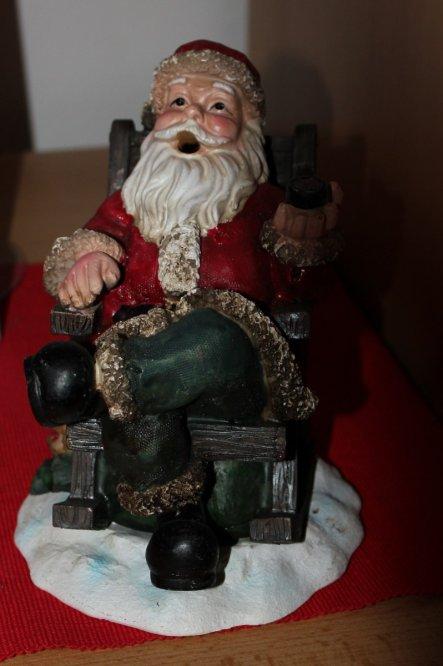Weihnachtsdeko 'Weihnachten bei uns'