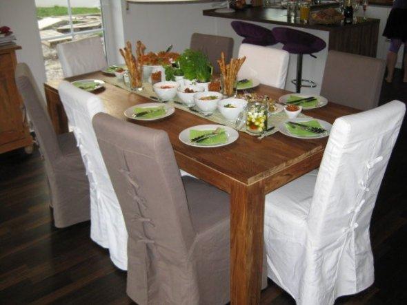 Wohnzimmer 'Wohnzimmer, Esszimmer, Küche' - Unser Haus - Zimmerschau
