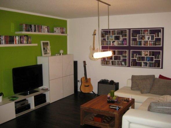 wohnzimmer 39 wohnzimmer esszimmer k che 39 unser haus quisi83 zimmerschau. Black Bedroom Furniture Sets. Home Design Ideas