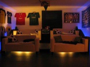 Hobbyraum 'Fußballkeller'