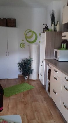my little green kitchen