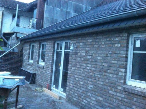 Hausfassade / Außenansichten 'Die Scheune wird ausgebaut....'