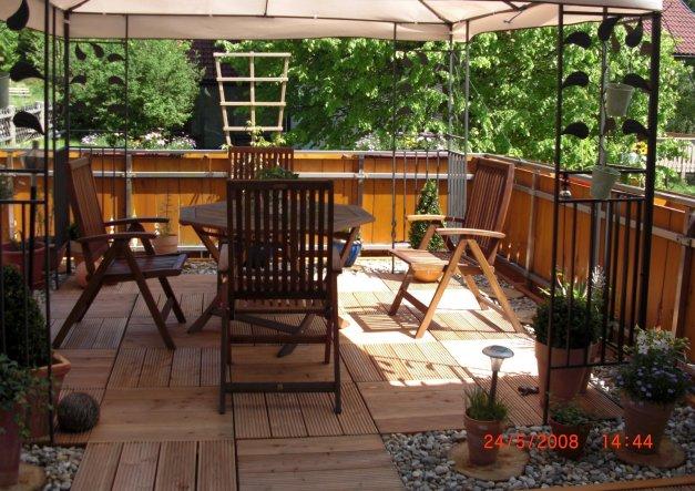 Terrasse / Balkon 'Meine Terasse im Sommer'