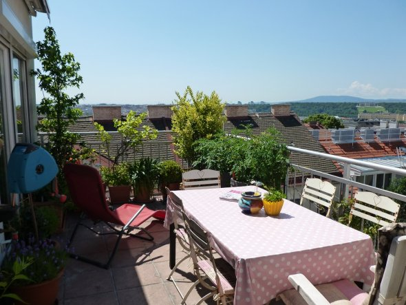 Terrasse / Balkon 'Zimmer mit Aussicht'