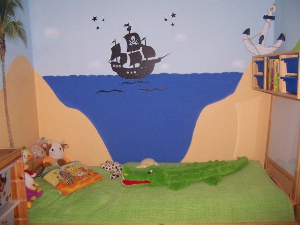 Kinderzimmer 39 piratenbucht 39 villa kunterbunt zimmerschau - Piratenzimmer deko ...