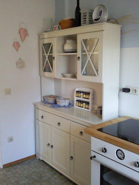 Küche 'Aufwärmzone'