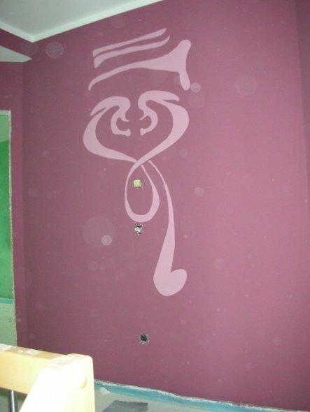 Hobbyraum 'Wände'